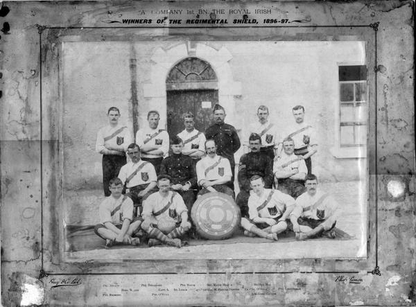 Panter-Downes EM 1897 1897 Royal_Irish_Regimental_Shield_Full